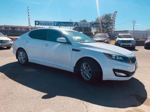 2013 Kia Optima for sale at Dealer Finance Auto Center LLC in Sacramento CA