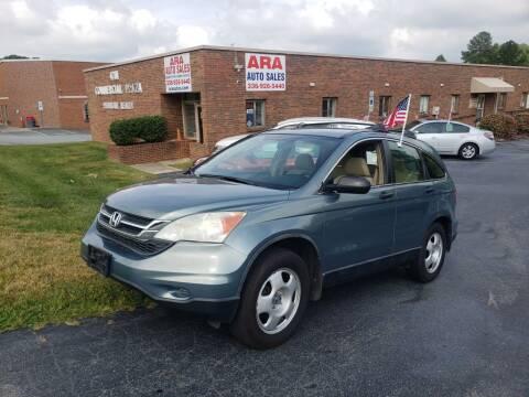 2010 Honda CR-V for sale at ARA Auto Sales in Winston-Salem NC