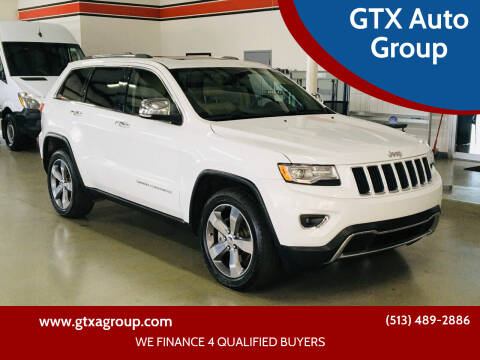 2015 Jeep Grand Cherokee for sale at GTX Auto Group in West Chester OH