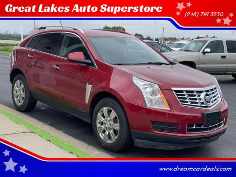 2015 Cadillac SRX for sale at Great Lakes Auto Superstore in Waterford Township MI