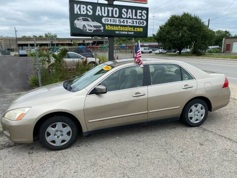 2006 Honda Accord for sale at KBS Auto Sales in Cincinnati OH