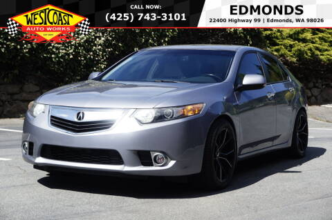 2011 Acura TSX for sale at West Coast Auto Works in Edmonds WA
