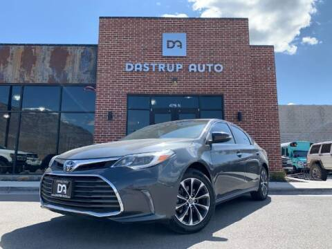2017 Toyota Avalon for sale at Dastrup Auto in Lindon UT