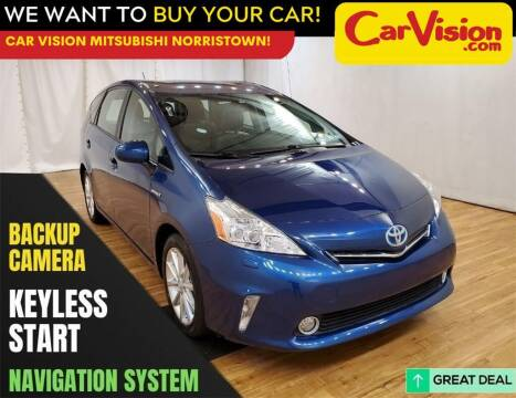2014 Toyota Prius v for sale at Car Vision Mitsubishi Norristown in Trooper PA