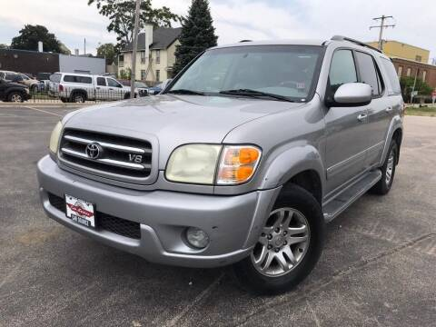 2003 Toyota Sequoia for sale at Your Car Source in Kenosha WI