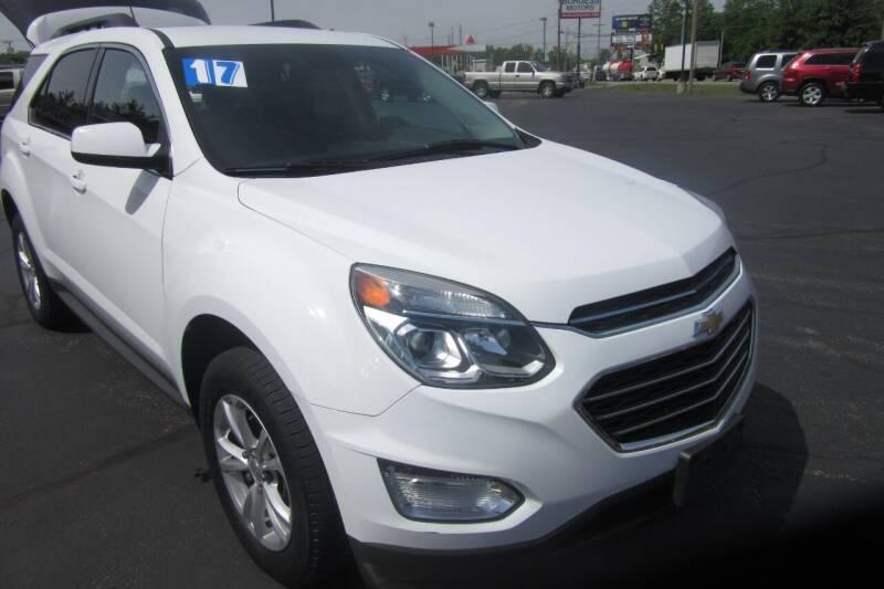2017 Chevrolet Equinox for sale at Burgess Motors Inc in Michigan City IN