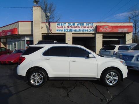 2013 Chevrolet Equinox for sale at Bickel Bros Auto Sales, Inc in Louisville KY