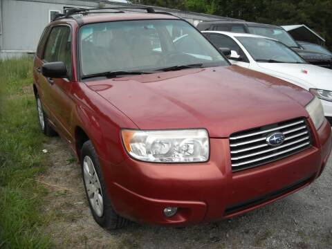 2008 Subaru Forester for sale at Euroasian Motors LLC in Richmond VA