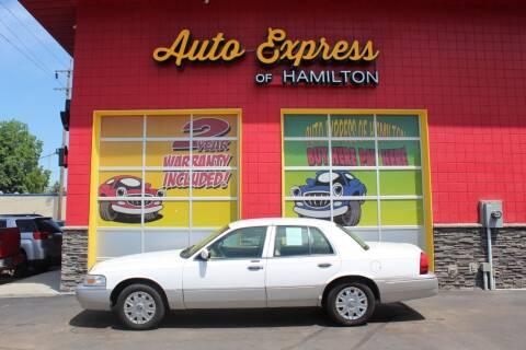 2007 Mercury Grand Marquis for sale at AUTO EXPRESS OF HAMILTON LLC in Hamilton OH