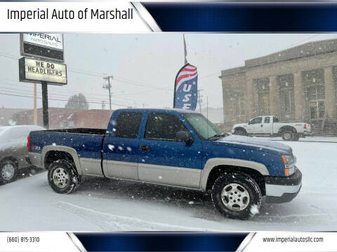 2003 Chevrolet Silverado 1500 for sale at Imperial Auto of Marshall in Marshall MO