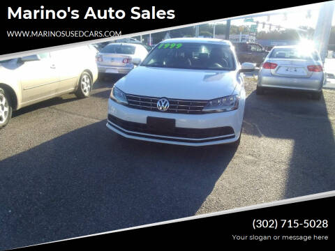 2018 Volkswagen Jetta for sale at Marino's Auto Sales in Laurel DE