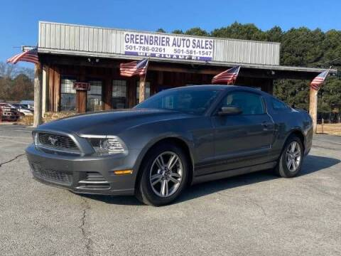 2013 Ford Mustang for sale at Greenbrier Auto Sales in Greenbrier AR
