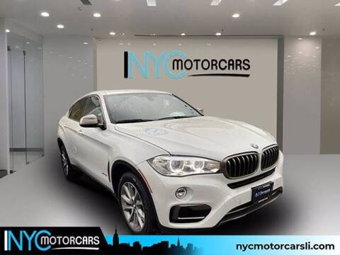 2018 BMW X6 for sale at NYC Motorcars in Freeport NY