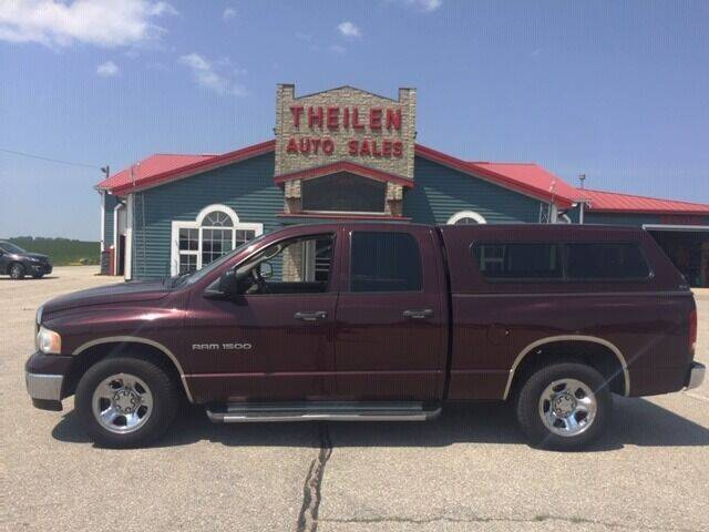 2004 Dodge Ram Pickup 1500 for sale at THEILEN AUTO SALES in Clear Lake IA