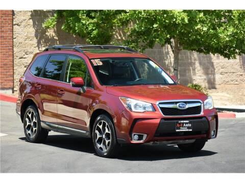 2015 Subaru Forester for sale at A-1 Auto Wholesale in Sacramento CA