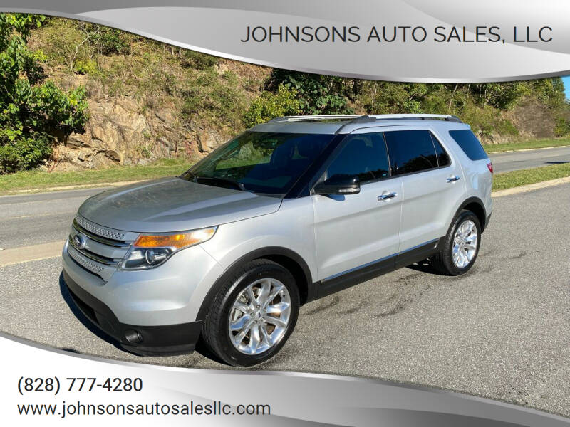 2014 Ford Explorer for sale at Johnsons Auto Sales, LLC in Marshall NC