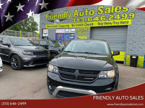 2017 Dodge Journey for sale at Friendly Auto Sales in Detroit MI