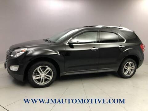 2016 Chevrolet Equinox for sale at J & M Automotive in Naugatuck CT