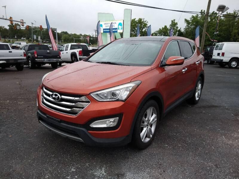 2013 Hyundai Santa Fe Sport for sale at P J McCafferty Inc in Langhorne PA