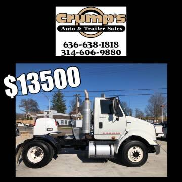 2011 International TranStar 8600 for sale at CRUMP'S AUTO & TRAILER SALES in Crystal City MO