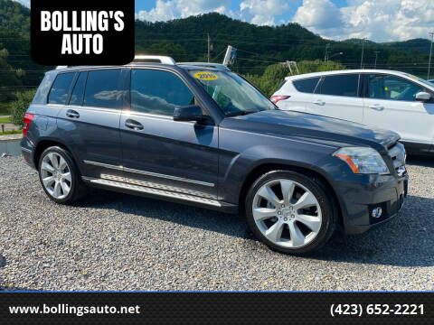 2010 Mercedes-Benz GLK for sale at BOLLING'S AUTO in Bristol TN