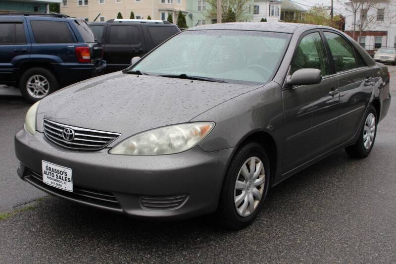 2005 Toyota Camry for sale at Grasso's Auto Sales in Providence RI