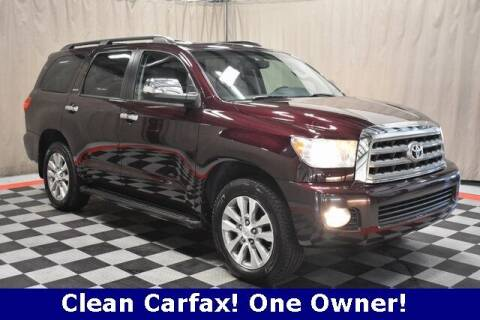 2017 Toyota Sequoia for sale at Vorderman Imports in Fort Wayne IN