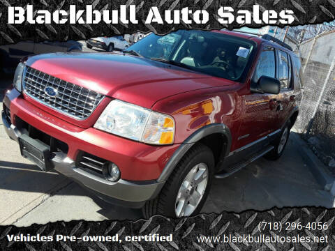 2005 Ford Explorer for sale at Blackbull Auto Sales in Ozone Park NY