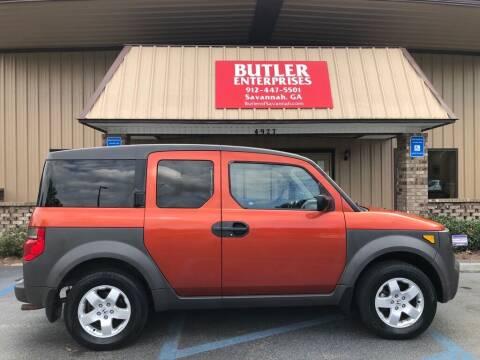 2003 Honda Element for sale at Butler Enterprises in Savannah GA