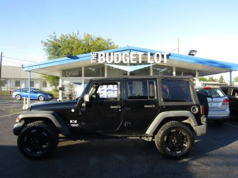 2009 Jeep Wrangler Unlimited for sale at THE BUDGET LOT in Detroit MI