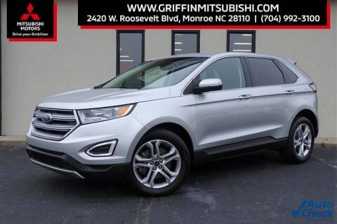 2017 Ford Edge for sale at Griffin Mitsubishi in Monroe NC