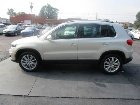 2014 Volkswagen Tiguan for sale at Taylorsville Auto Mart in Taylorsville NC