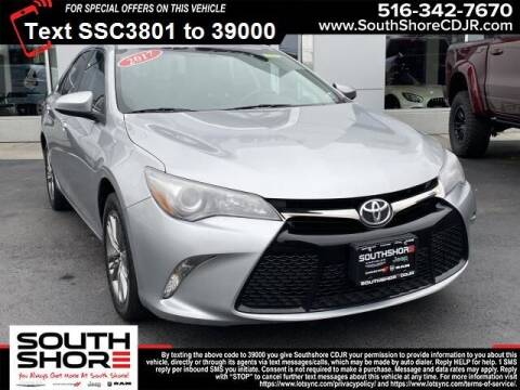 2017 Toyota Camry for sale at South Shore Chrysler Dodge Jeep Ram in Inwood NY