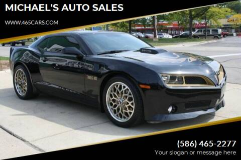 2012 Chevrolet Camaro for sale at MICHAEL'S AUTO SALES in Mount Clemens MI