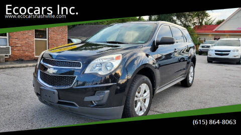 2013 Chevrolet Equinox for sale at Ecocars Inc. in Nashville TN