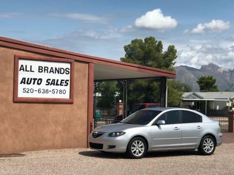 2007 Mazda MAZDA3 for sale at All Brands Auto Sales in Tucson AZ
