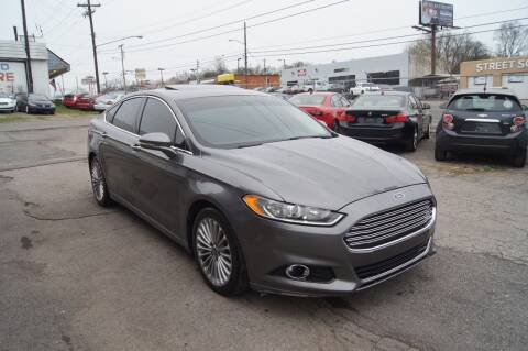 2013 Ford Fusion for sale at Green Ride Inc in Nashville TN