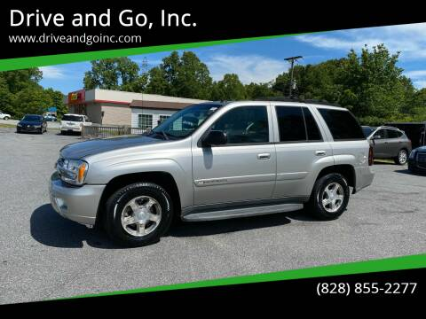 2004 Chevrolet TrailBlazer for sale at Drive and Go, Inc. in Hickory NC