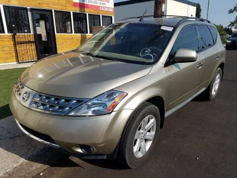 2007 Nissan Murano for sale at Trini-D Auto Sales Center in San Diego CA