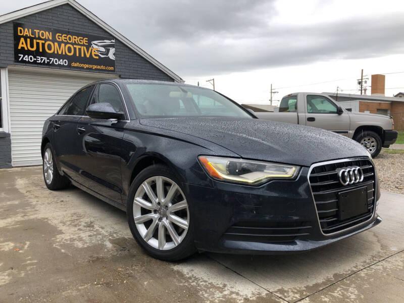 2014 Audi A6 for sale at Dalton George Automotive in Marietta OH