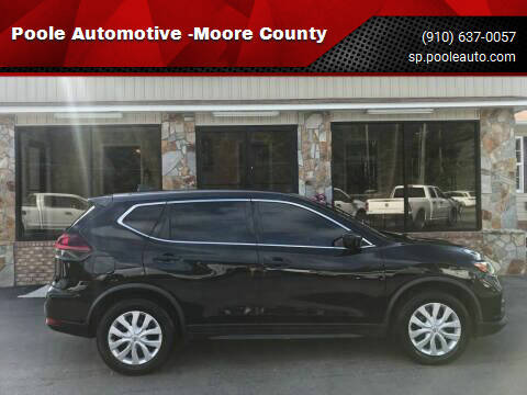 2018 Nissan Rogue for sale at Poole Automotive in Laurinburg NC