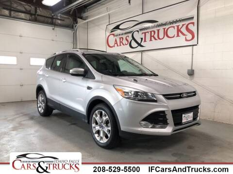 2016 Ford Escape for sale at Idaho Falls Cars and Trucks in Idaho Falls ID