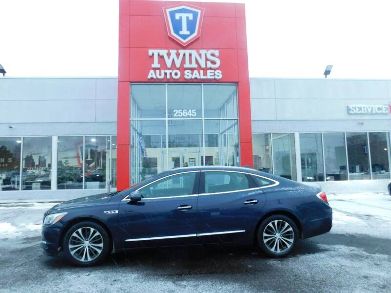 2017 Buick LaCrosse for sale at Twins Auto Sales Inc Redford 1 in Redford MI