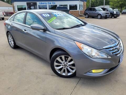 2011 Hyundai Sonata for sale at Liberty Car Company in Waterloo IA