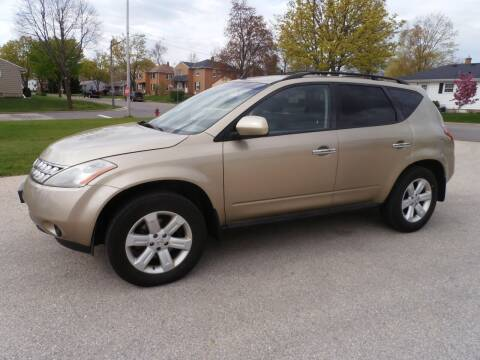 2007 Nissan Murano for sale at A-Auto Luxury Motorsports in Milwaukee WI