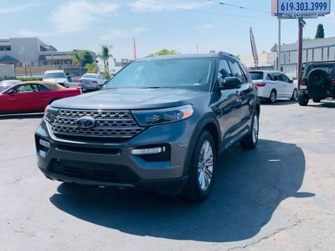 2020 Ford Explorer for sale at MotorMax in Lemon Grove CA
