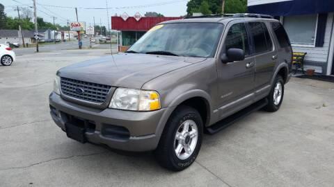 2002 Ford Explorer for sale at West Elm Motors in Graham NC