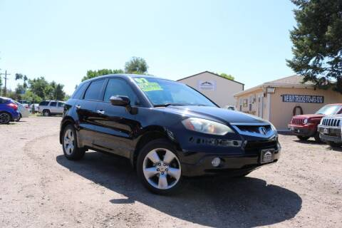 2007 Acura RDX for sale at Northern Colorado auto sales Inc in Fort Collins CO