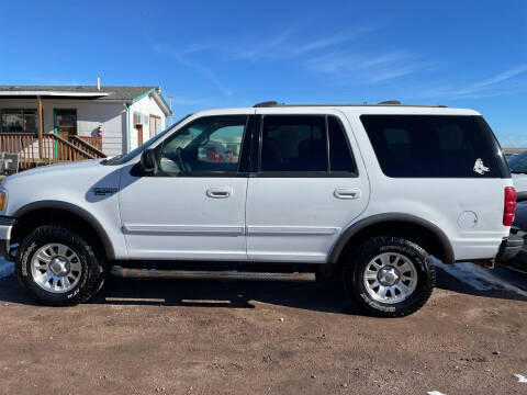 2000 Ford Expedition for sale at PYRAMID MOTORS - Fountain Lot in Fountain CO