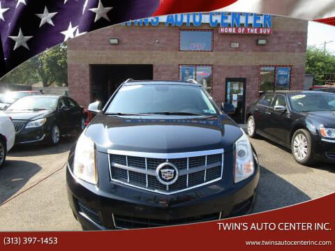 2012 Cadillac SRX for sale at Twin's Auto Center Inc. in Detroit MI